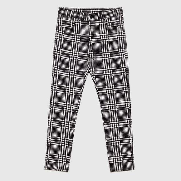 62d1f6ed Zara Men's 36X32 black & white houndstooth pants. M_5b5eac39dcf8553b2ebdd328